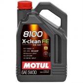 Motul 8100 X Clean Fe 5w30 4 Litre