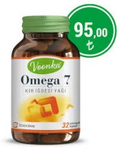 Voonka Omega 7 Kır İğdesi Yağı 32 Yumuşak Kapsül Skt 10 2020