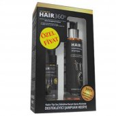 Hair 360 Women Sprey 50 Ml + Hair 360 İntensive Hair Loss Shampoo 200 Ml Hediye