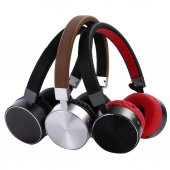 Kablosuz Kulaklık Bluetooth Kulaklık Stereo Surround Kulaklık Siyah
