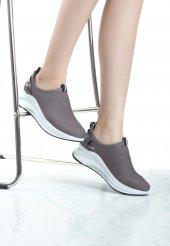 Caprina Koyu Gri Bayan Spor Ayakkabı