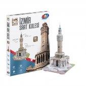 Maket İzmir Saat Kulesi 3d Maket Puzzle