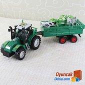 Oyuncak Traktör Ve Çiftlik Hayvanları
