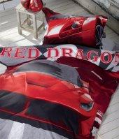 Soley Tek Kişilik Ranforce Uyku Seti Red Dragon