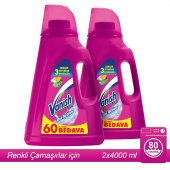 Vanish Kosla Oxi Action Sıvı Pembe 4000 Ml X 2 Adet