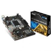 Msı Msı H110m Pro Vd Plus Ddr4 S+v+gl 1151p (Matx)