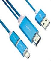 Vcom Mhl M504 Micro 2 Usb To Hdmı Mhl Dönüştürücü