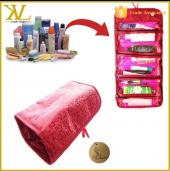 Organizer Bayan Çanta Pratik Kozmetik Malzemesi Makyaj El Çantası Fırça Seti Düzenleyici Kutusu