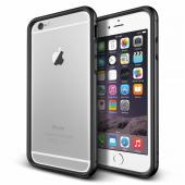 Verus İphone 6 Plus 6s Plus Iron Bumper Kılıf Black Titanium