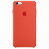 Apple Orijinal İphone 6 6s Turuncu Silikon Kılıf