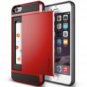 Verus İphone 6 Plus 6s Plus Damda Slide Kılıf Crimson Red