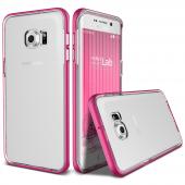 Verus Galaxy S6 Edge Plus Crystal Bumper Kılıf Hot Pink