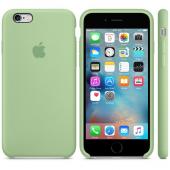 Apple Orijinal İphone 6 6s Yeşil Silikon Kılıf