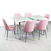 Masa Sandalye Takımları Mutfak Camlı Masa Takım