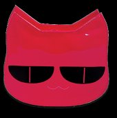Bay Şapkacı Kız Çocuk Kedili Çanta