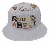 Bay Şapkacı Erkek Çocuk Trafik Baskılı Bermuda