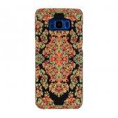 Wachikopa Samsung Galaxy S8 Kapak Bodrum El Yapımı Kilim Desenli