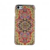 Iphone 7 8 Kapak Truva El Yapımı Kilim Desenli Kumaş Dokuma