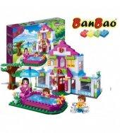 Banbao 405 Parça Düşler Evi Oyuncak Lego Seti