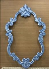 Vesme Ayna Cercevesi 70x100 Mavı