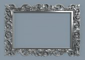 Cıgdem Ayna Modelı 60x80 Gumus