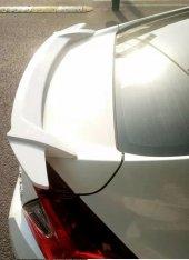Honda Civic 2016 2018 Fc5 Kanatlı Bagaj Spoiler Beyaz