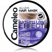 Cameleo Gümüş Saç Maskesi Sarı & Gri Saçlar İçin Maske Mor Maske