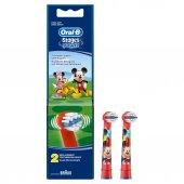 Oral B Diş Fırçası Yedek Başlığı Stages Mickey Çocuk 2li
