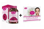Voonka Collagen Hyaluronic Acid 32 Tb+ Yüz Maskesi 1 Adet