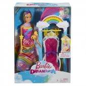 Barbie Gökkuşağı Prensesi Ve Salıncağı Fjd06