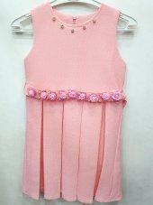 Kız Çocuk Güllü Elbise