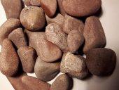 Kırmızı Doğal Taş, Çakıl Taşı, Dekoratif Taş, Saksı,teraryum, Dekor Taşı, 2 Kg 40 60 Mm