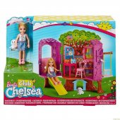 Barbie Ağaç Evi (Chelsea) Fpf83