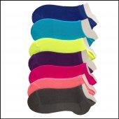 Faik Oktay Bayan Yazlık Colorful Patik 4 Lü Paket
