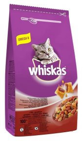 Whiskas Biftekli Sebzeli Yetişkin Kedi Mamasi 14 Kg