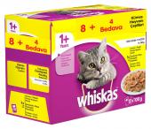 Whiskas Pouch Multipack Kümes Hayvanı Çeşitleri Karışık Konserve