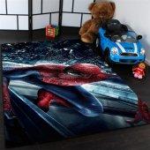 Spider Man Desenli Çocuk Odası Halısı