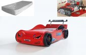 Farinay Bmw N6 Nitro Araba Karyola Kırmızı, Işıklı, Rüzgarlıklı