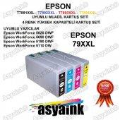 Asyaink Epson Wf 5110 Dw Yazıcı Uyumlu Muadil Kartuş Seti
