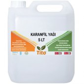 Tito Karanfil Yağı (Soğuk Sıkım) 5 Lt