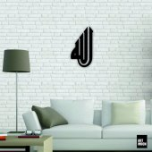 Allah(Cc) Metal Tablo Duvar Dekoru