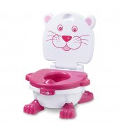 Baby 2 Go Alıştırma Tuvaleti Pembe