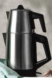 Emsan Bella Gusto Elektrikli Çay Makinesi İnox Parlak