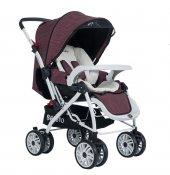 Beneto Bt 888 Çift Yönlü Bebek Arabası Mor