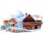 Jocco 3d Puzzle Üç Boyutlu Maket Kayak Merkezi 24 Parça