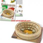 Folia 3d Maket Puzzle Colosseum Roma 84 Parça