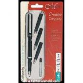 Manu Creative Calligraphy Set (4 Uç + Pompa)