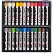 Eberhard Faber Yağlı Pastel Boya 24 Renk