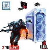 Dragos Intel İ7 8700 16gb Ram 2tb Hdd 8gb Rx570 Ekran Kartı Gaming Bilgisayar