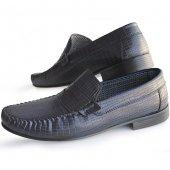 Fabrikadan Halka Milano Safir 1013 Eko Rok Erkek Ayakkabı